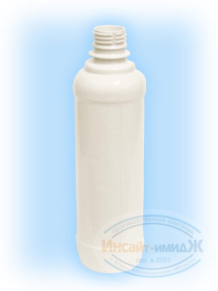Пэт бутылка 0,4 литра, горло 28 мм PCO1810, под жидкость для розжига, белая матовая от ООО Полимерторг