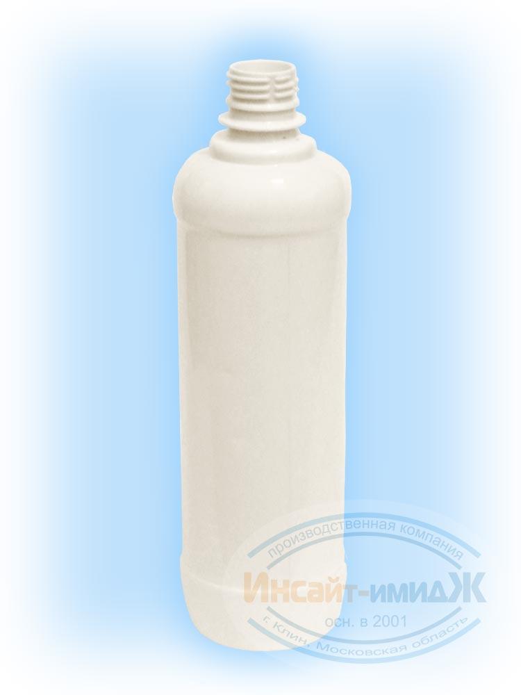 Пэт бутылка 0,9 литра 28 мм PCO1810 под жидкость для розжига, белая матовая от ООО Полимерторг