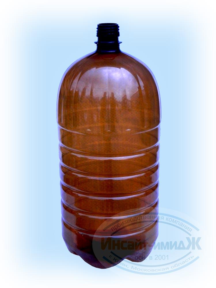 Пэт бутылка 3 литра 28 мм PCO1810, коричневая, от ПК Инсайт-Имидж