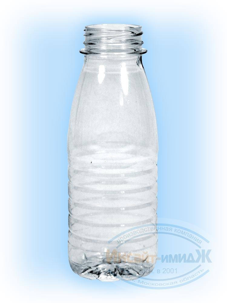 Пэт бутылка 0,275 литра 38 мм Bericap38 (BRC38) молочная, бесцветная, от ООО Полимерторг