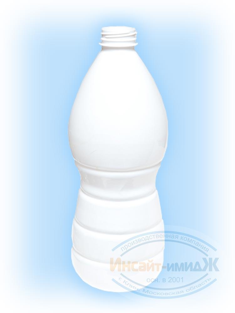 Пэт бутылка 1,5 литра молочная 38 мм Bericap38 (BRC38), белая матовая, от ПК Инсайт-Имидж