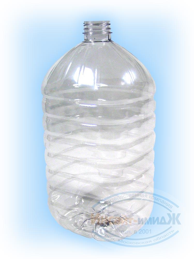 Пэт бутылка 4,2 литра 38 мм Bericap38 (BRC38), бесцветная, прозрачная, от ООО Полимерторг