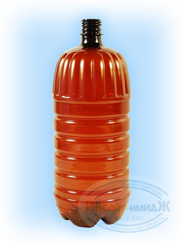 Пэт бутылка 2 литра 28 мм PCO1810, коричневая, от ООО Полимерторг