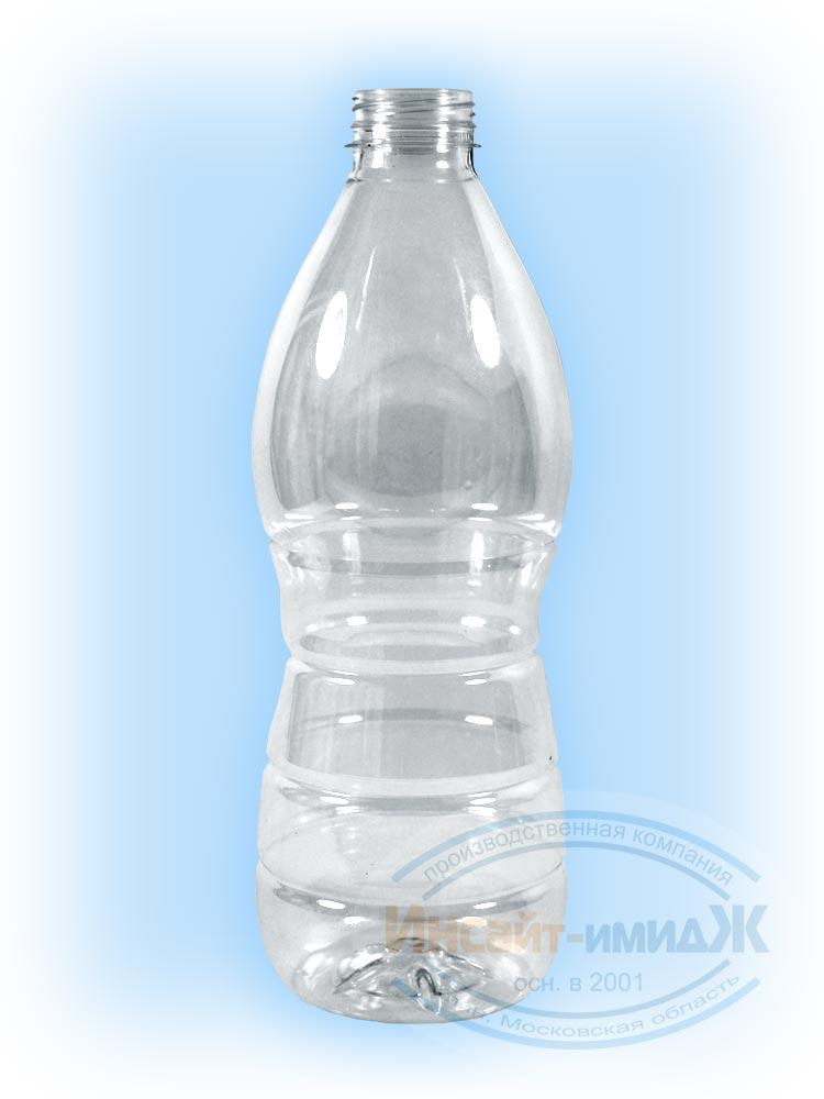 Пэт бутылка 1,5 литра молочная 38 мм Bericap38 (BRC38), бесцветная, прозрачная,